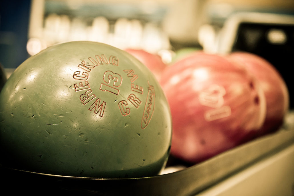 Bowling Balls. Photo by Joonas Tikkanen.