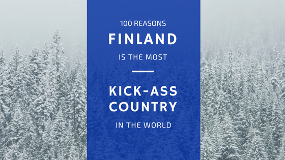 Why Finland is the coolest country in the world
