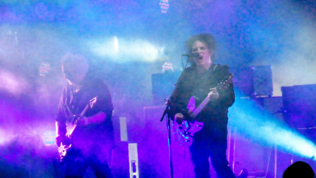 English rock band The Cure peforming at Riot Fest, 2014. Photo by Sean Benham.