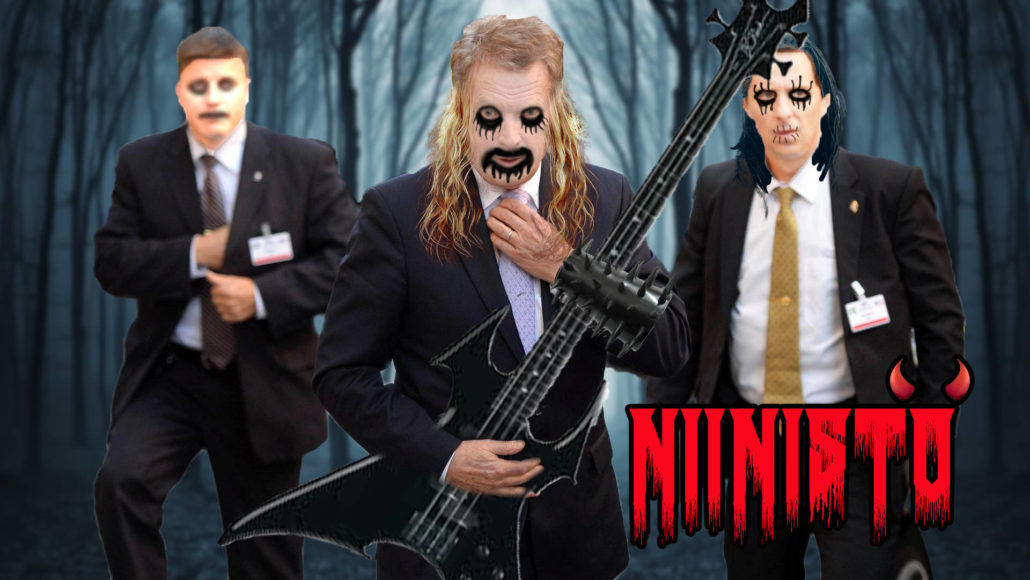 Niinistö Metal band meme