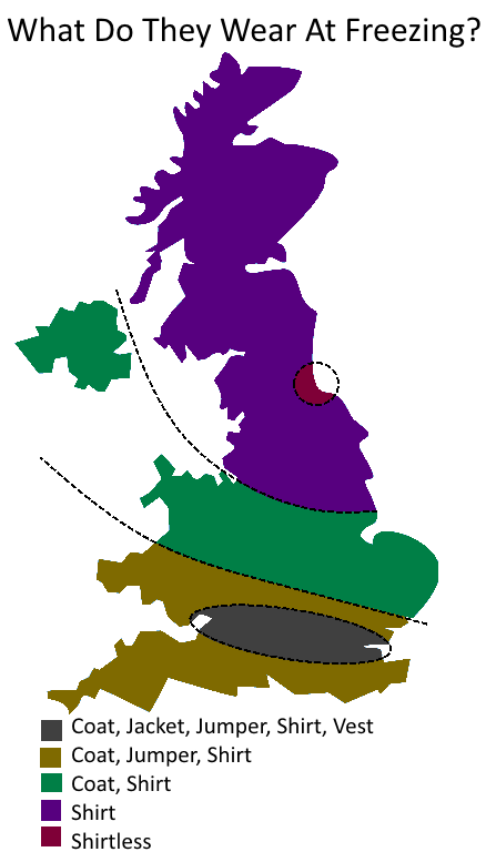 Map Of England Joke.12 Fun Maps That Show Ways Britain S Divided Other Than On Brexit