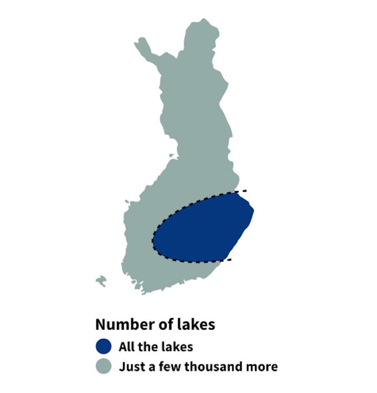 8 fun maps that show how Finland is divided